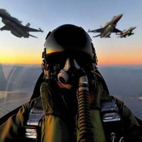 «Ελληνικά μαχητικά F-16 και Apache AH-64 μπήκαν στον εναέριο χώρο των Σκοπίων» λένε οι Σκοπιανοί – Δείτε το βίντεο –