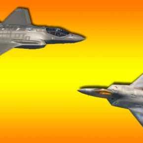 """Οι ΗΠΑ """"ανασταίνουν"""" το F-22 λόγω των προβλημάτων τουF-35"""