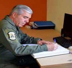Το μήνυμα που έστειλε ο Αρχηγός της Πολεμικής Αεροπορίας στους Τούρκους και την πολιτικήηγεσία