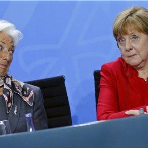 Μέρκελ: Θέλουμε το ΔΝΤ στο ελληνικό πρόγραμμα -Ηχηρή απάντηση της Γερμανίδας Καγκελαρίου στον Τσίπρα | Λαγκάρντ: Το ΔΝΤ είναι αποφασισμένο να συνεχίσει να βοηθά τηνΕλλάδα