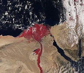 ΕΙΚΟΝΕΣ ΒΓΑΛΜΕΝΕΣ ΑΠΟ ΤΗ ΒΙΒΛΟ: Ο Νείλος «μάτωσε» – Ερχονται συνταρακτικά γεγονότα(ΦΩΤΟ)