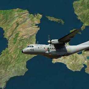 Ούτε τη Μ.Παρασκευή δεν σεβάστηκαν οι Τούρκοι…Στα 70 μέτρα το «CN-235» πάνω από το Φυλάκιο της Παναγιάς(upd)