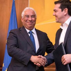 Τσίπρας: Ελλάδα και Πορτογαλία μπορούν να βοηθήσουν την Ευρώπη να βρει πάλι τις αξίες της -ΜΗΝΥΜΑ ΓΙΑ ΤΑ ΕΠΕΙΣΟΔΙΑ ΣΤΗΝΕΙΔΟΜΕΝΗ