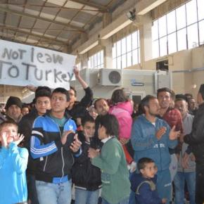 Αναβάλλεται η επαναπροώθηση των προσφύγων στην Τουρκία μέχρι τηνΠαρασκευή!