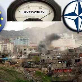 Βίντεο-ντοκουμέντο: Δεν είναι Συρία – Ο τουρκικός Στρατός κονιορτοποιεί την πόλη Σιρνάκ στην ΝΑΤουρκία