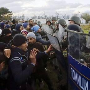Θρασεία ανακοίνωση του υπουργείου Εσωτερικών των Σκοπίων: Κατηγορούν την ΕΛ.ΑΣ ότι άφησε να εξελιχθούν τα επεισόδια–