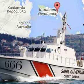 Σκάφος της τουρκικής Ακτοφυλακής προσπάθησε να σταματήσει την Αναστάσιμη Θεία Λειτουργία στη νησίδα Παναγιά μεμεγάφωνα!