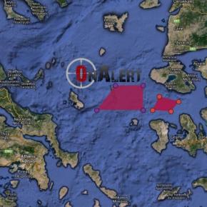 Πρόκληση: Η Τουρκία κάνει ασκήσεις στην «αυλή» μας – Κρίσιμες ώρες στο Αιγαίο – διαδραστικόςΧΑΡΤΗΣ