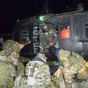 Νυχτερινή Καταδρομική Επιχείρηση στη ν. Κω με την υποστήριξη Ελικοπτέρων!(φώτο)