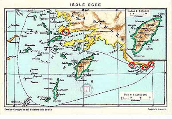1929-Χαρτογραφικής-Υπηρεσίας--Ιταλικού-Υπουργείου-Αποικιών-μεγα-Nησια