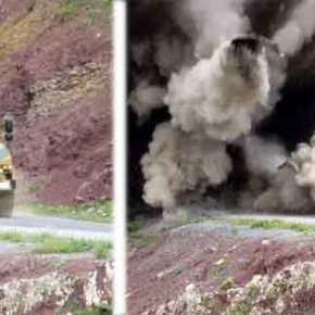 Έτσι τους διαλύουν! Βίντεο με επίθεση κατά τουρκικού θωρακισμένου οχήματος απόΚούρδους!