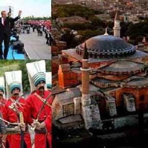 Η υπερβολή χαρακτηρίζει τους εορτασμούς των Τούρκων για την Άλωση της Πόλης(VIDEOS)