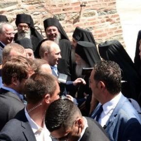 Πούτιν: «Στο Άγιον Όρος γίνεται ένα μεγάλο και σημαντικό έργο που αφορά τις ηθικές βάσεις και ηθικέςαξίες»