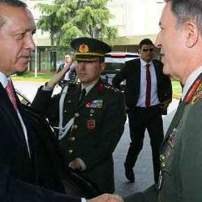 """""""Έχουμε σκοτώσει 1300 μαχητές του ISIS"""" υποστηρίζει ο Αρχηγός των τουρκικώνΕΔ"""