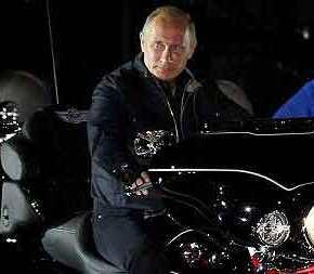 ΑΠΙΣΤΕΥΤΟ! Μέχρι και στο Άγιο Όρος θα ακολουθήσουν τον Πούτιν οι Ρώσοι μηχανόβιοι!(ΦΩΤΟ)