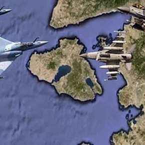 Οι Τούρκοι θα Επιχειρήσουν Κατάρριψη Ελληνικού Μαχητικού ή Δημιουργία Θερμού Επεισοδίου στοΑιγαίο