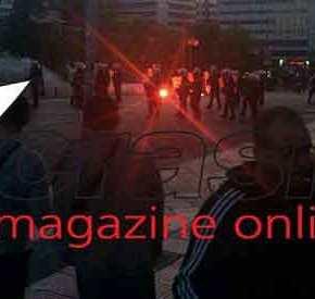 ΠΝΙΓΗΚΕ ΤΟ ΣΥΝΤΑΓΜΑ ΣΤΑ ΧΗΜΙΚΑ : Οι γνωστοί άγνωστοι «διέλυσαν» άλλη μια μεγάλη συγκέντρωση διαμαρτυρίας (ΦΩΤΟ)