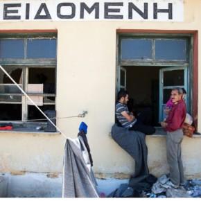 Ειδομένη: Απομακρύνονται οι σκηνές από τη σιδηροδρομικήγραμμή