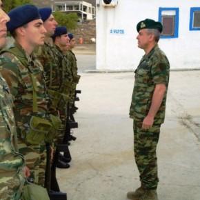 Οινούσσες: Ο Γενικός Επιθεωρητής Στρατού έκανε έλεγχο στην ετοιμότητα –ΦΩΤΟ