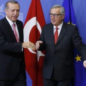 Γιούνκερ: Δεν θα κάνουμε χάρες στην Τουρκία για τιςθεωρήσεις
