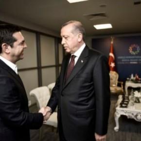 Tσίπρας σε Ερντογάν: Θα φορέσω γραβάτα όταν λυθεί τοΚυπριακό