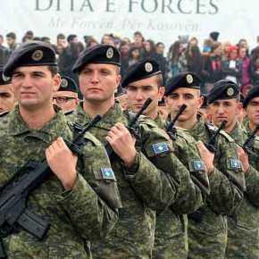 Οι Αλβανοί του Κοσσυφοπεδίου προετοιμάζουν την δημιουργία τακτικού στρατού με την βοήθεια τηςΑλβανίας