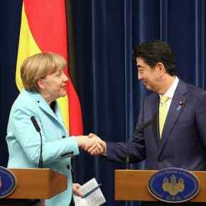 Η Α. Μέρκελ πρότεινε στον Σ. Άμπε την είσοδο της Ιαπωνίας στο ΝΑΤΟ – Ολική στρατηγική περικύκλωση της Ρωσίας θέλει η ΑτλαντικήΣυμμαχία