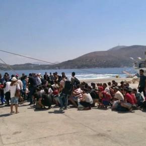 Ελεύθεροι με περιοριστικούς όρους οι πρόσφυγες στηΛέρο