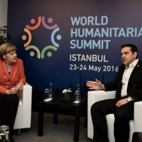 Αισιοδοξία εν όψει Eurogroup στο τετ α τετ Τσίπρα –Μέρκελ