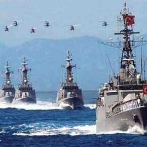 37 πολεμικά πλοία και υποβρύχια έβγαλε η Άγκυρα στο Αιγαίο για την άσκηση «ΛευκήΘύελλα»