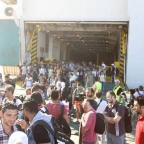 Ξεπερνούν τους 54.300 οι πρόσφυγες στην Ελλάδα – Άλλοι 74 έφτασαν σήμερα–