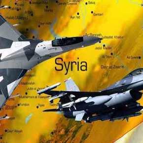 Aερομαχία ρωσικών και τουρκικών μαχητικών στη Συρία – Αποχώρησαν κυνηγημένα τα τουρκικά αεροσκάφη