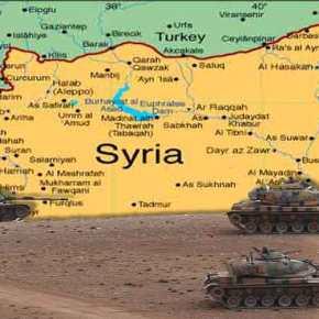 Εισβολή στη Συρία σε βάθος 50 χλμ με αεροπορική κάλυψη ανακοίνωσαν τα τουρκικά ΜΜΕ – Μεταφέρθηκαν UAV Bayraktar στα σύνορα (vid,φωτό)