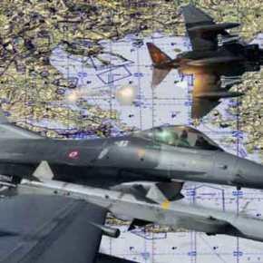 Τα επιθετικά σενάρια που ξεδίπλωσε η Τουρκία στο Αιγαίο διατηρούν σε συναγερμό τις ΕΔ