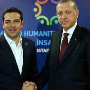 """Τσίπρας με Ερντογάν και """"παραμύθια της Χαλιμάς"""" για τη κατάσταση στοΑιγαίο!"""