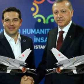 Μπαράζ υπερπτήσεων Τούρκων πάνω από ελληνικά νησιά! Τσάμπα η συνάντηση Τσίπρα-Ερντογάν!