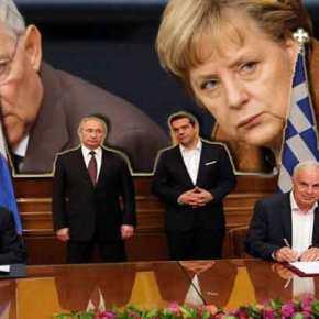 «Λύσσα» στον γερμανικό Τύπο με την επίσκεψη Β.Πούτιν: «H Eλλάδα θέλει να απελευθερωθεί από τουςδανειστές»
