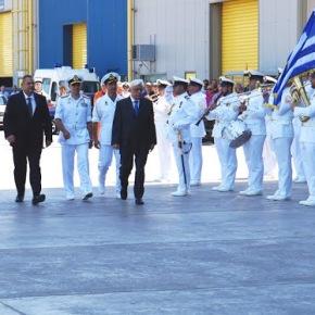 Η πολιτική και στρατιωτική ηγεσία του ΥΠΕΘΑ στην τελετή ύψωσης Σημαίας και ονοματοδοσίας των υποβρυχίων «ΜΑΤΡΩΖΟΣ» και «ΚΑΤΣΩΝΗΣ»ΑΝΑΝΕΩΣΗ-Φωτογραφίες.