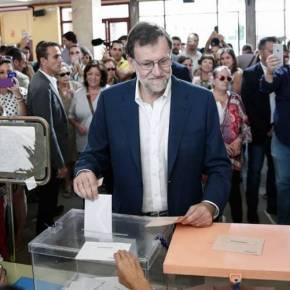 Ανατροπή στην Ισπανία: Πρώτος ο Ραχόι, τρίτοι οι Podemos- Οι πρώτες αντιδράσεις(φωτό)