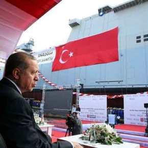 Ερντογάν : Μετά το «Αναντολού» …Θα ναυπηγήσουμε καιΑεροπλανοφόρο!