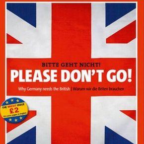 Brexit με διαφορά 10 μονάδων 'δείχνει' νέα δημοσκόπηση Der Spiegel σε Βρετανούς: Σας παρακαλούμε, μηνφύγετε