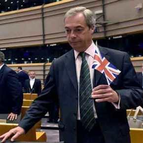 Ν. Φάρατζ στο «γερμανοκρατούμενο» Ευρωκοινοβούλιο: «Πριν 17 χρόνια που ήρθα εδώ γελάγατε – Τώρα σας κόπηκε το γέλιο»!(βίντεο)