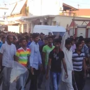 Οι Πακιστανοί βγήκαν στους δρόμους: Πορεία διαμαρτυρίας στη Θήβα – Καταγγέλλουν νέαΜανωλάδα