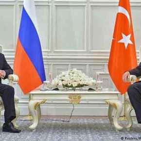 Ολόκληρη η συνομιλία Β.Πούτιν-Ρ.Τ.Ερντογάν – Τι συζήτησαν και τι συμφώνησαν(βίντεο)