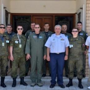 Ρώσοι επιθεωρητές στην αεροπορική βάση Τανάγρας!ΦΩΤΟ