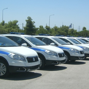 Suzuki S-Cross, το νέο όχημα της ΕλληνικήςΑστυνομίας