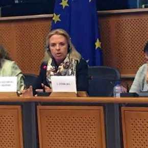 Η Βόζεμπεργκ «πάγωσε» Σκοπιανό βουλευτή: «Το όνομά σας δεν είναιΜακεδονία!»