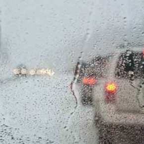 Ισχυρές βροχές και καταιγίδες τοΣαββατοκύριακο