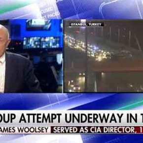 50/50 να είναι στημένο το Πραξικόπημα …δίνει ο τ.Διευθυντής της CIA JamesWoolsey!