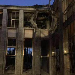 Αγκυρα: Εικόνες από τη βομβαρδισμένηβουλή